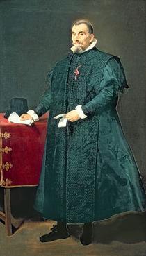 Portrait of Don Diego de Corral y Arellano von Diego Rodriguez de Silva y Velazquez