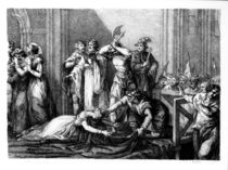The Execution of Mary Queen of Scots by John Francis Rigaud