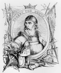 Portrait of Robert the Bruce by English School