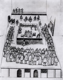 The Execution of Mary Queen of Scots von English School