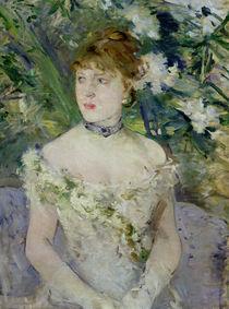 Young girl in a ball gown, 1879 von Berthe Morisot