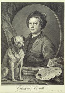 Self Portrait, 1749 von William Hogarth