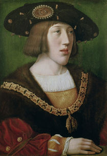 Portrait of Charles V 1516 by Bernard van Orley