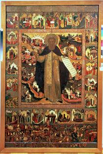 Life of St. Sergius of Radonesh von Russian School