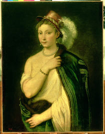 Female Portrait, c.1536 by Titian