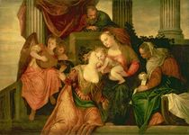 The Mystic Marriage of Saint Catherine by Veronese