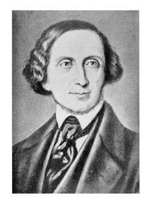Portrait of Hans Christian Andersen by Danish School