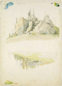 Rock and Tree: Two Studies by Caspar David Friedrich