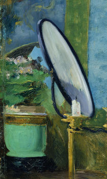 Detail from the painting 'Nana' by Edouard Manet