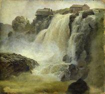 Haugfoss in Norway, 1827 von Christian Ernst Bernhard Morgenstern