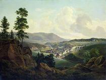 Saw Mill in Norway, 1827 von Christian Ernst Bernhard Morgenstern