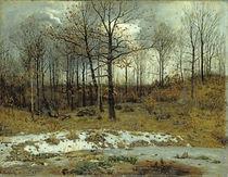 Last Snow at Weimar, 1889 von Karl Buchholz
