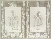 Charlemagne and Heymon, 1804-5 by Philipp Otto Runge
