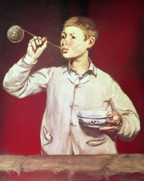 Boy Blowing Bubbles, 1867-69 von Edouard Manet