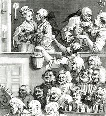 The Laughing Audience, 1733 von William Hogarth
