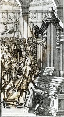 The Organ Recital by German School