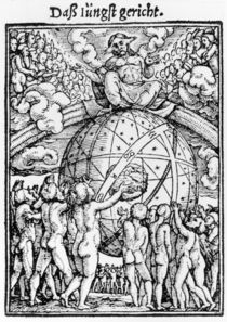 The Last Judgement, from 'The Dance of Death' von Hans Holbein the Younger