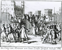 The Execution of the Duke of Monmouth and Buccleuch von German School
