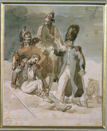 Episode from Napoleon's Retreat from Russia in 1812 by Theodore Gericault