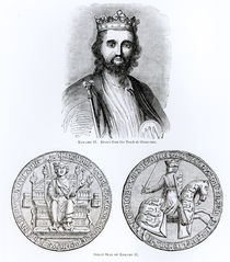 Edward II drawn from the Tomb at Gloucester von English School