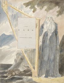 The Bard, A Pindaric Ode: 'O'er thy Country Hangs von William Blake