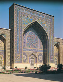 The Entrance Portal to the shrine by Islamic School