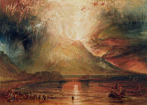 Mount Vesuvius in Eruption von Joseph Mallord William Turner