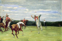 Polo player in Jenischpark by Max Liebermann