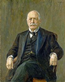 Prince Bernhard von Bulow 1917 by Max Liebermann