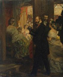 In the Opera House, 1862 von Adolph Friedrich Erdmann von Menzel