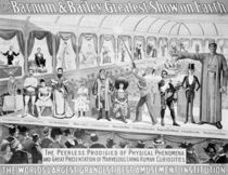 Poster advertising, 'The Barnum and Bailey Greatest Show on Earth von American School