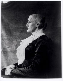 Susan Brownell Anthony by American Photographer