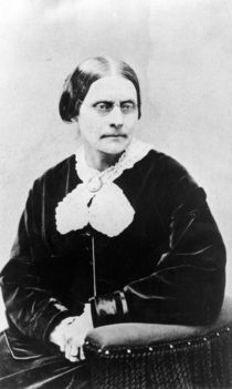 Susan Brownell Anthony c.1871 by American Photographer