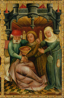 The Stolen Blessing from the High Altar of St. Peter's in Hamburg by Master Bertram of Minden