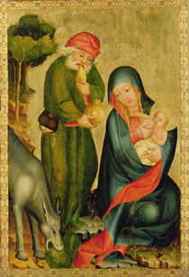 Rest on the Flight to Egypt by Master Bertram of Minden