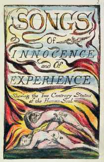 Combined Title Page from 'Songs of Innocence and of Experience' von William Blake