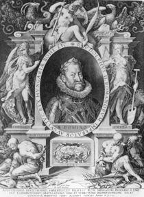 Portrait of Rudolph II von Johannes Hausser von Ach