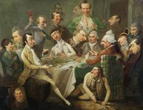 A Caricature Group, c.1776 by John Hamilton Mortimer