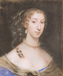Portrait of a Nobleman's Wife von Edmund Ashfield
