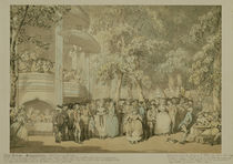Vauxhall Gardens, c.1784 von Thomas Rowlandson