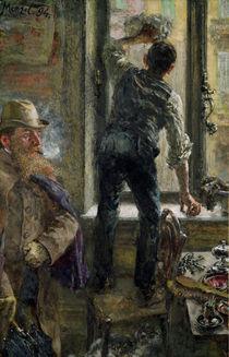 Breakfast at the Cafe, 1894 von Adolph Friedrich Erdmann von Menzel