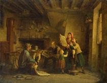 The Art Dealer von Pierre Edouard Frere