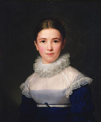 dortrait of Lina Groger, the foster daughter of the Artist von Friedrich Carl Groger