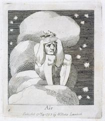 Air, plate 6 from 'For Children. The Gates of Paradise' von William Blake
