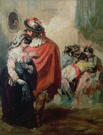 Masquerade von Eugenio Lucas y Padilla