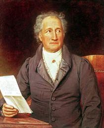 Johann Wolfgang von Goethe 1828 by Joseph Carl Stieler