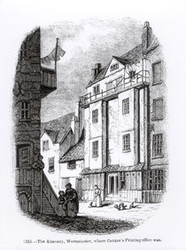 Caxton's Printing Office, The Almonry by English School