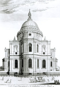 The East Prospect of St. Paul's Cathedral von English School