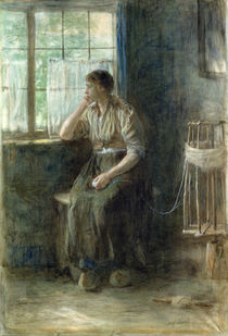 Woman at the Window von Jozef Israels