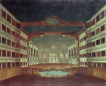 Interior of the San Samuele Theatre by Gabriele Bella